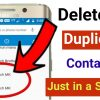Duplicate contacts remover 2020